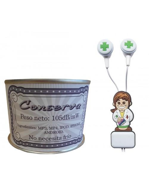 Auricular Farmacéutica en lata