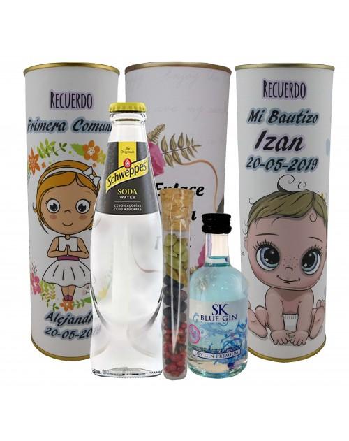 Pack de Gin Tonic Schweppes ORIGINAL con Ginebra SK BLUE GIN