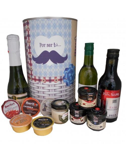 Regalo Original de productos Gourmet en lata para hombre